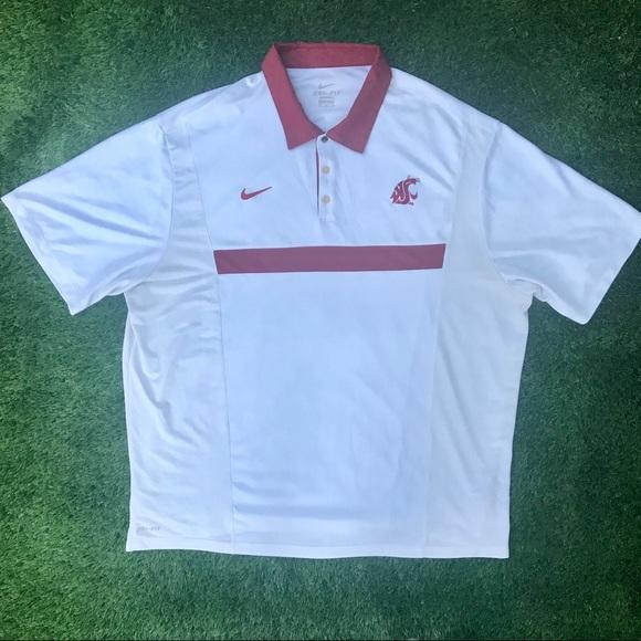 Nike Other - Nike DriFit Washington State University Polo XXL